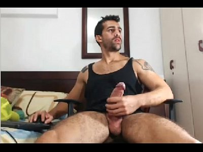 Amazing Cam Gay Hunk Shows His Huge Dick