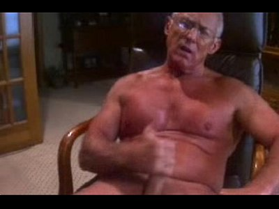 Fit Grandpa Jerks Off For Me On His Gay Cam