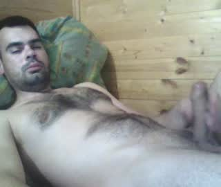 Hairy Russian Gay Dude On Webcam Show
