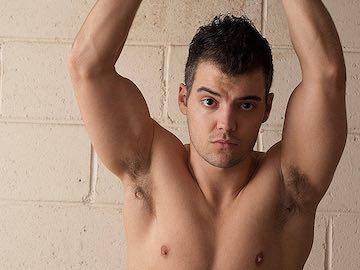 Sexy Straight Guy Max Hughes On Webcam