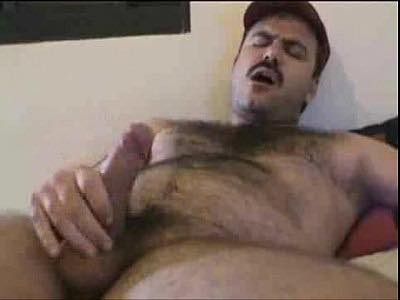 Hairy Gay Bear Jamesxy Masturbates His Uncut Penis On Free Cam